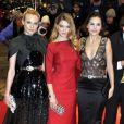 Léa Seydoux, Virginie Ledoyen et Diane Kruger lors de la soirée d'ouverture du Festival de Berlin, le 9 février 2012.