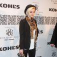 Ashlee Simpson au premier défilé de la marque Rock & Republic pour Kohl's, à New York, le 10 février 2012.