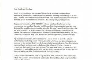 Jodie Foster : Déçue, elle envoie le DVD de son film et une lettre à Hollywood