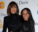 Whitney Houston et sa fille Bobbi Kristina le 12 férvier 2011 à Los Angeles