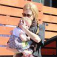 Nicole Kidman et sa fille Faith Margaret le 5 février 2012 à Los Angeles