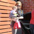 Nicole Kidman, Keith Urban et leur fille Faith Margaret le 5 février 2012 à Los Angeles
