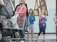 PHOTOS EXCLUSIVES : Tea Leoni, une maman cool au supermarché...