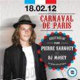 Affiche annonçant la venue de Pierre Sarkozy au club Theatro à Viterbo, en Italie, le 18 février 2012.