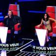 Les jurés Florent Pagny et Jenifer sont sous le charme du talent dans The Voice