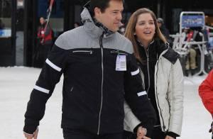 Louis de Bourbon et sa femme Maria Margarita très complices aux sports d'hiver