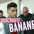 Le groupe One Direction caricaturé par Yann Barthès dans le  Petit Journal  de Canal+, le jeudi 23 février 2012.
