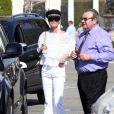 """""""Laeticia Hallyday dans les rues de Beverly Hills, le 24 février 2012."""""""