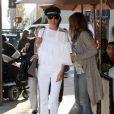 Laeticia Hallyday dans les rues de Beverly Hills, le 24 février 2012.