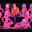 """Christian Louboutin et ses filles mettent le """"Feu"""" au Crazy Horse. Le 29 février 2012."""