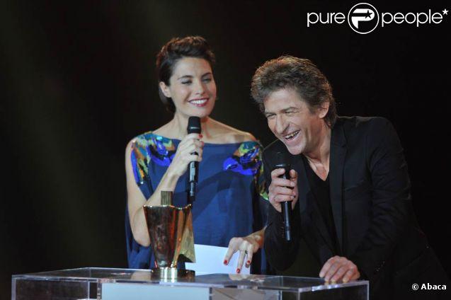 Hubert-Félix Thiéfaine, première et deuxième Victoires à 63 ans. 27e Victoires de la Musique, le 3 mars 2012 au Palais des Congrès de Paris.