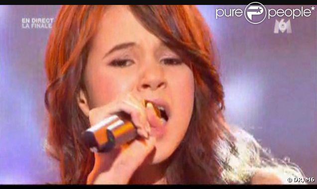 Marina lors de la finale de  La France a un incroyable talent  sur M6 le mercredi 14 décembre 2011 sur M6