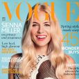 Sienna Miller en couverture du Vogue anglais du mois d'avril