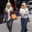 Les jumelles Olsen à New York en juin 2011.