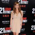 Sara Rue à l'avant-première du film 21 Jump Street, à Los Angeles le 13 mars 2012