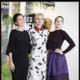 Virginie Ledoyen, Diane Kruger et Lea Seydoux : somptueuses et rayonnantes  lors du photocall du film Les Adieux de la Reine à Paris ke 15 mars 2012