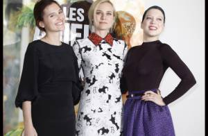 Diane Kruger, Léa Seydoux et Virginie Ledoyen : trois reines belles et complices