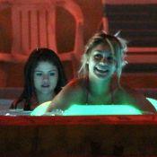 Vanessa Hudgens, Selena Gomez et Ashley Benson : bain sexy dans un jacuzzi