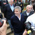 George Clooney arrêté à Washington le 16 mars 2012 après avoir manifesté devant l'ambassade du Soudan