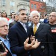 George Clooney à Washington le 16 mars 2012