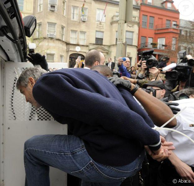 George Clooney arrêté à Washington le 16 mars 2012