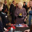 La reine Elizabeth II, accompagnée par son mari le duc d'Edimbourg, inaugurait la réouverture de Kensington Palace, le 15 mars 2012, au terme d'un chantier de rénovation de plus de 14 millions d'euros.