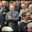 Rachida Dati et Nicolas Sarkozy scellent leur belle complicité à l'issue du meeting de Nantes du président-candidat. Le 27 mars 2012