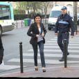 Rachida Dati à Levallois lors d'une réunion publique de l'UMP organisée par Jean-François Copé le 28 mars 2012