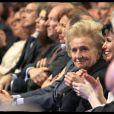 Rachida Dati entourée de Nathalie Kosciusko-Morizet et Bernadette Chirac le 27 mars 2012