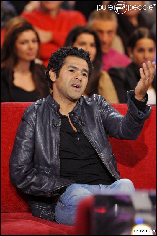 Jamel Debbouze, en janvier 2011, sur le plateau de Vivement dimanche.