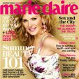 Kim Cattrall couverture du Marie-Claire US