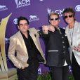Rascal Flatts lors de la 47e cérémonie des American of Country Music (ACM) Awards, qui s'est déroulée le 1er avril 2012 au MGM Grand Garden Arena de Las Vegas.