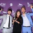 Lady Antebellum lors de la 47e cérémonie des American of Country Music (ACM) Awards, qui s'est déroulée le 1er avril 2012 au MGM Grand Garden Arena de Las Vegas.