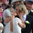 """""""Chris Hemsworth et Olivia Wilde se marient sur le tournage de  Rush , le 2 avril 2012 à Londres."""""""