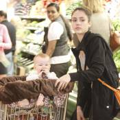 Jessica Alba : La star épuisée se fait voler la vedette par son bébé Haven