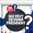 Dans les coulisses de Qui veut être président présenté par Marc-Olivier Fogiel sur France 4