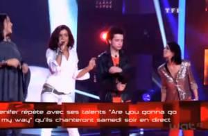 The Voice : Jenifer et ses talents, Sonia, Sacha et Amalya enflamment la scène