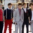 One Direction au Rockefeller Center à New York le 12 mars 2012 pour le  Today Show  de la NBC.