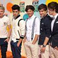 One Direction lors des Kids' Choice Awards de Nickelodeon aux Etats-Unis en mars 2012