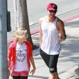 Ryan Phillippe et sa fille Ava profitent d'un moment père-fille à Los Angeles, le 29 mars 2012