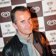 Christophe Dechavanne lors de la soirée de lancement Café Zéro, le 12 avril 2012 à Paris