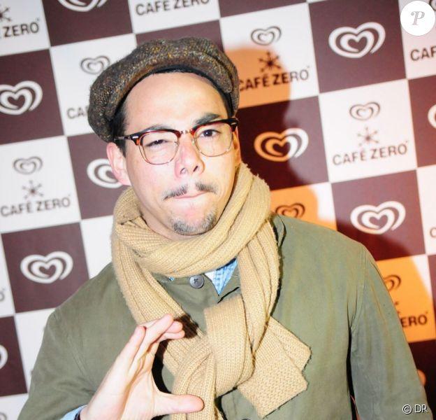 Ben l'Oncle Soul lors de la soirée de lancement Café Zéro, le 12 avril 2012 à Paris