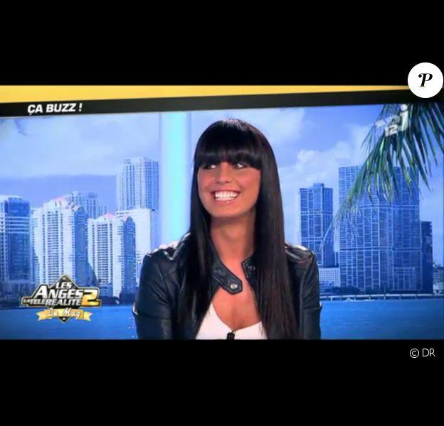 Astrid invitée sur le plateau des Anges de la télé-réalité : Miami Dreams le 22 juin 2011 sur NRJ 12