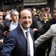 François Hollande le 16 avril 2012 à Albi