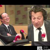 François Hollande et Nicolas Sarkozy : Face à Laurent Gerra, ils ont de l'humour
