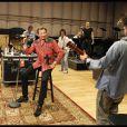 L'ultime répétition de Johnny Hallyday avec ses musiciens le 21 avril 2012, avant le magnifique concert du 24 avril à l'Orpheum Theater