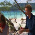 Denis Brogniart dans Koh Lanta 2012, vendredi 27 avril 2012 sur TF1