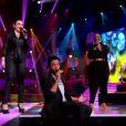 Stephan, Stéphanie et Dominique reprennent Laissons entrer le soleil le samedi 28 avril 2012 sur TF1 dans The Voice