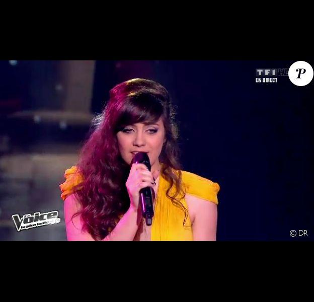 Prestation d'Al.Hy dans The Voice le samedi 28 avril 2012 sur TF1
