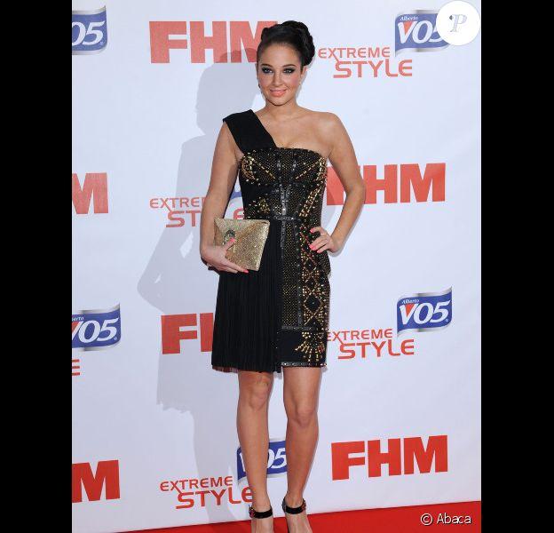 Tulisa Contostavlos le 1er mai 2012 lors de la soirée FHM au cours de laquelle elle a été élue femme la plus sexy du monde